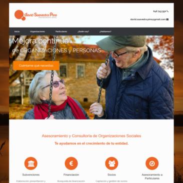 Asesoramientosocial.com. Captura de portada