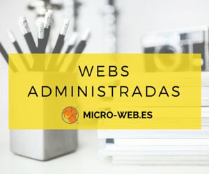 Webs administrads - micro-web.es
