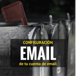 Configuración email