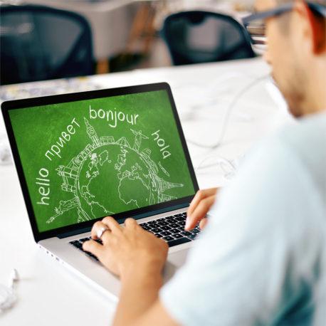 web multi-idioma