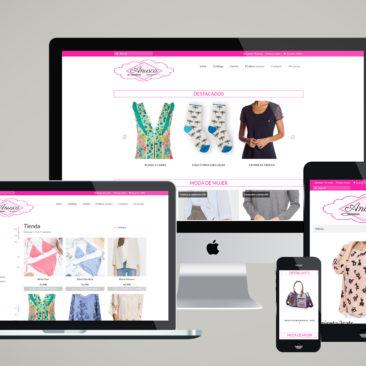 Tienda online administrada