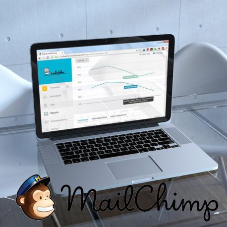 Creación de cuenta de mailchimp